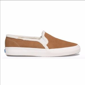 KEDS Double Decker Suede Slip On Sneakers Size 10